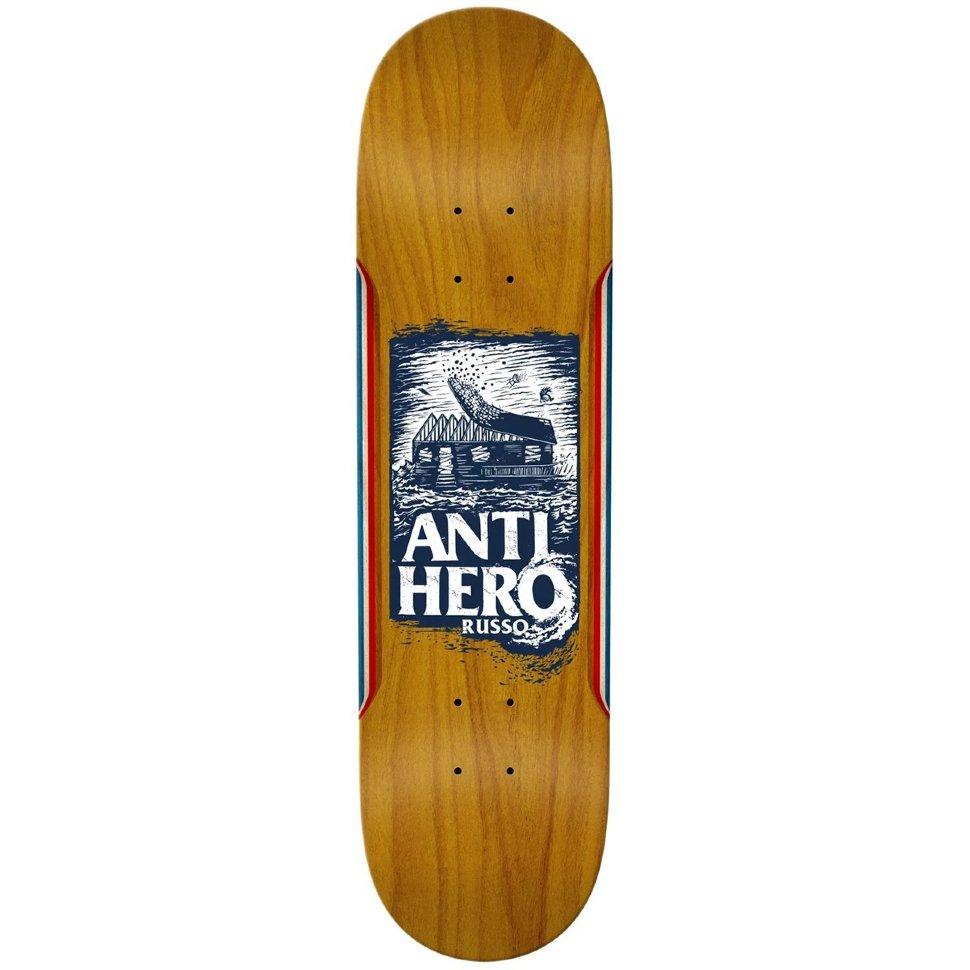 Дека скейтборд ANTI-HERO Brd Hurrican Russo 888560144545