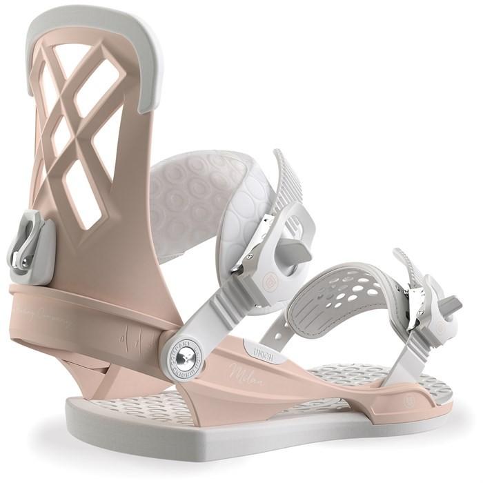 Купить Крепления для сноуборда женские Union Milan Pink, Китай