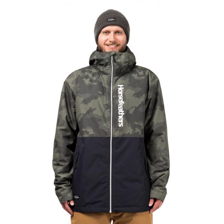 Купить Куртка для сноуборда мужская HORSEFEATHERS M Dagger Jacket Cloud Camo