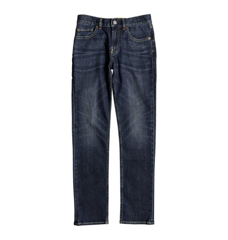 Купить Джинсы для мальчиков-подростков DC SHOES Worker Slim Boy B Medium Stone, Вьетнам