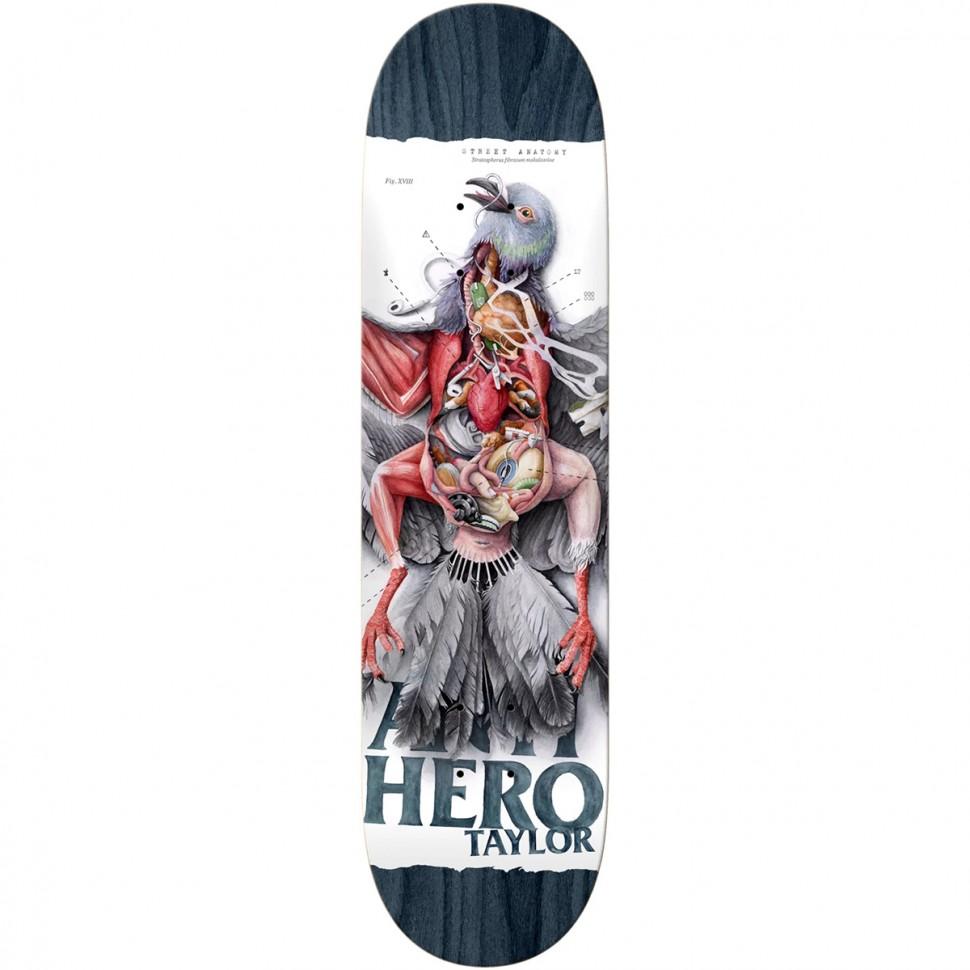 Дека для скейтборда ANTI-HERO Brd Taylor Strt Anatomy 8.5 дюйм