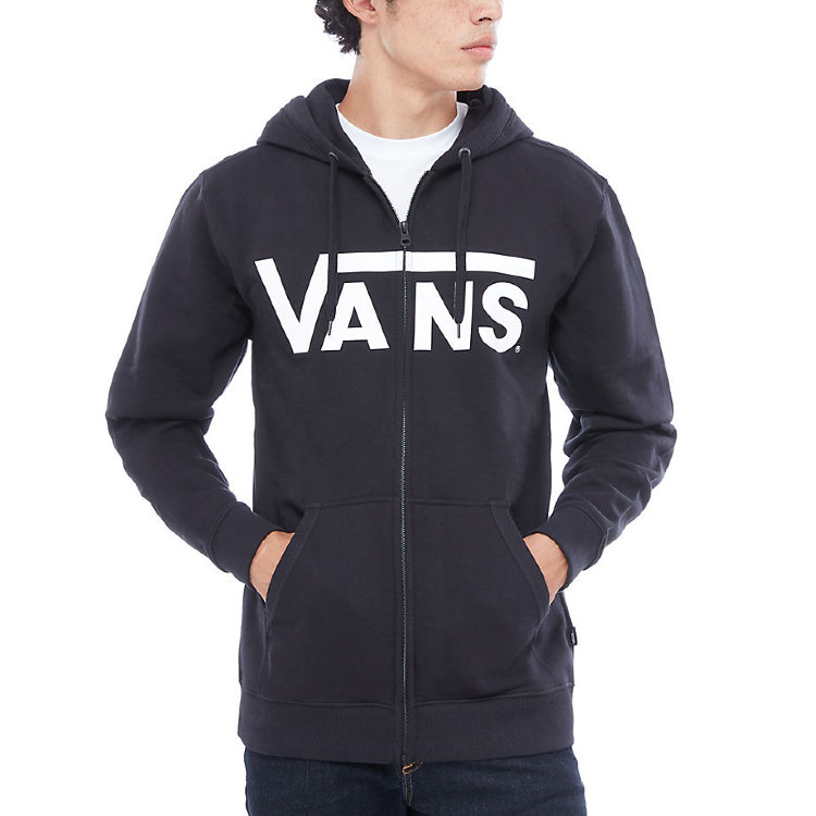 Купить Жакет с капюшоном на молнии VANS Mn Vans Classic Zip Black/White, Македония