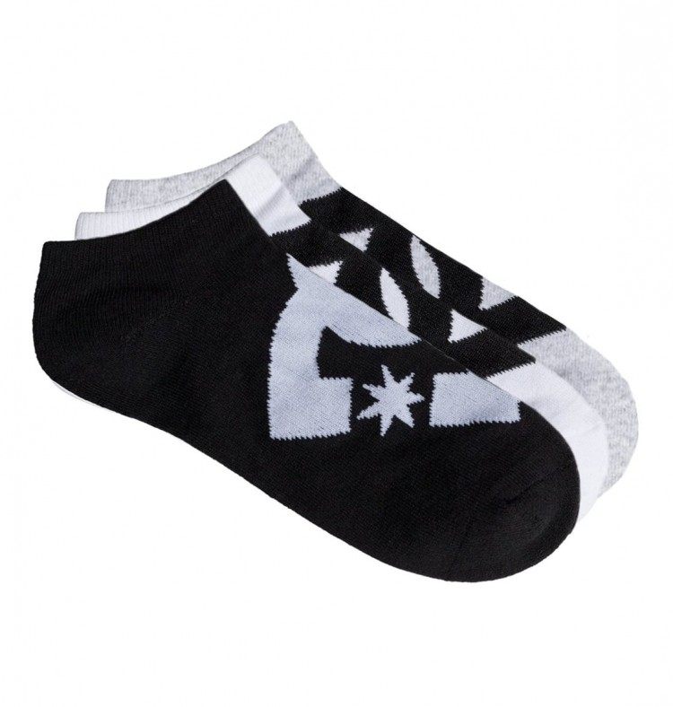 Купить Носки DC SHOES Spp Dc Ankleb3P B Assorted, Китай