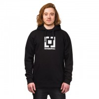Худи для сноуборда HORSEFEATHERS M Leader Sweatshirt Black