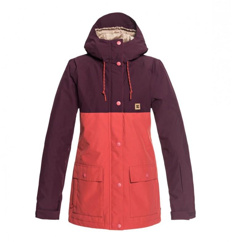Купить Куртка сноубордическая DC SHOES Cruiser Jkt J Winetasting, Китай