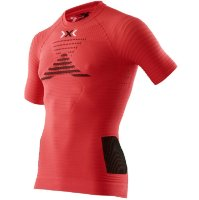 Термокофта X-BIONIC Running Man Effektor Power Ow Shirt Sh_Sl. Flash Red/Black