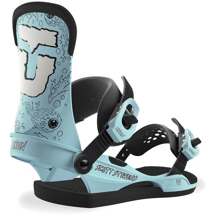 Купить Крепления для сноуборда мужские Union Scott Stevens Blue, Китай