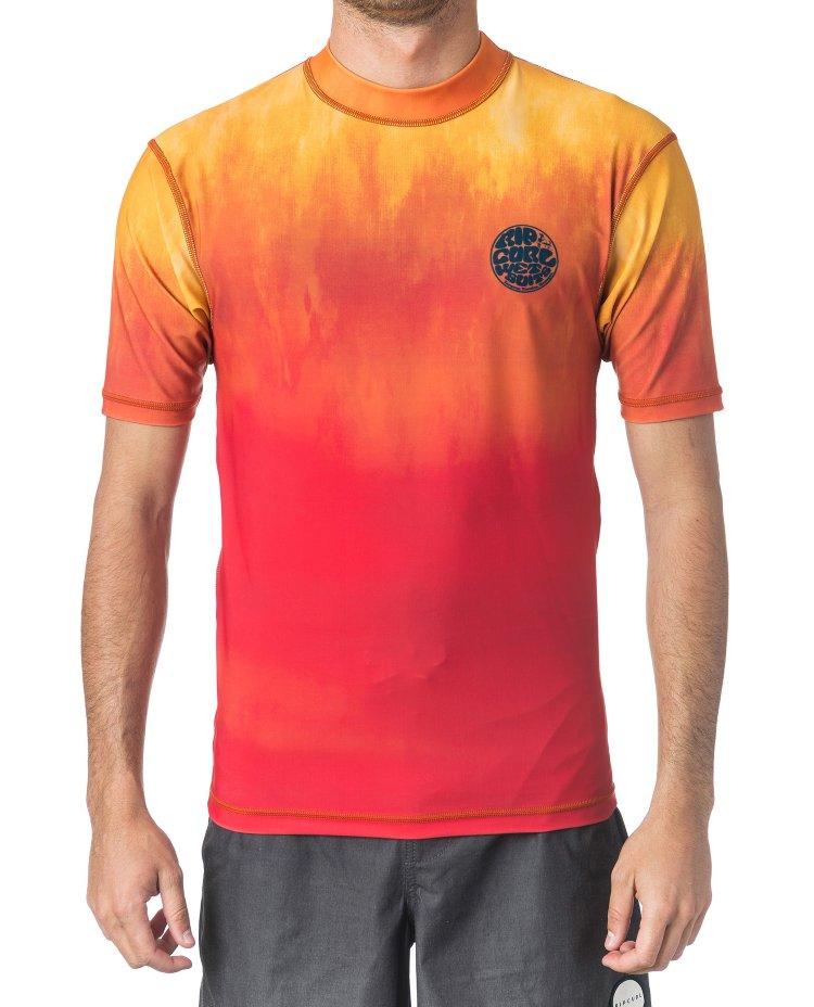 Купить Гидромайка RIP CURL Corpo Faded Uv Tee Orange, Таиланд