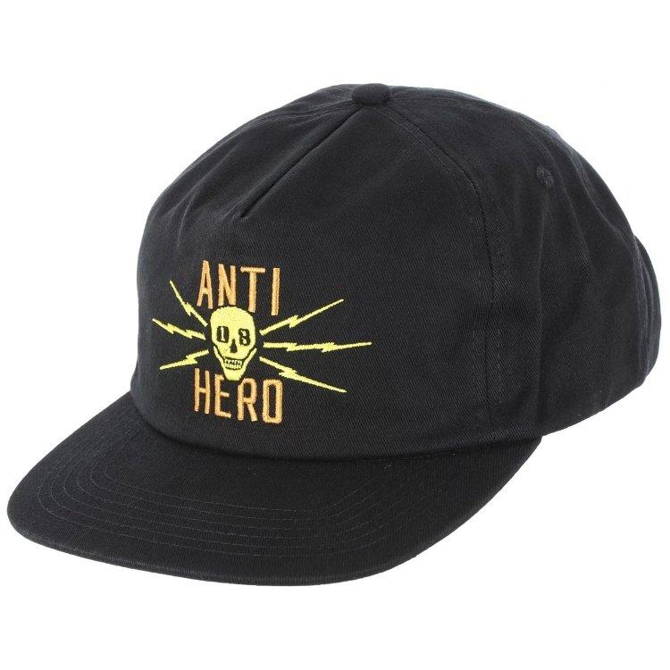 Кепка ANTI-HERO Adj Stay Away Snap Black, Китай  - купить со скидкой