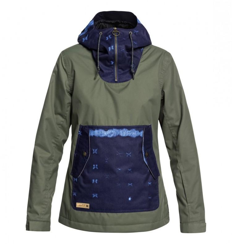 Куртка-анорак для сноуборда женская DC SHOES Skyline Jkt J Beetle, Китай  - купить со скидкой