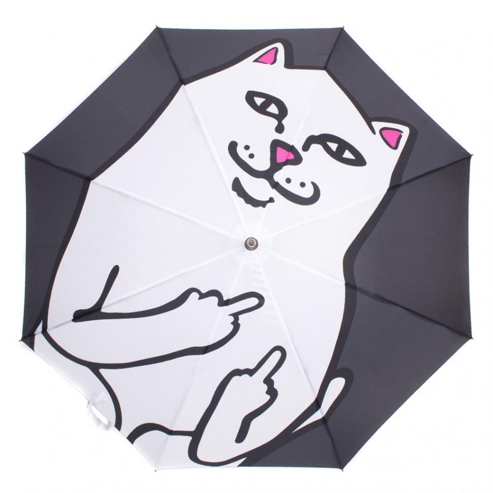 Зонтик RIPNDIP Lord Nermal Umbrella Black