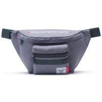 Сумка на пояс HERSCHEL Independent Seventeen Mid Grey Crosshatch/Dark Shadow