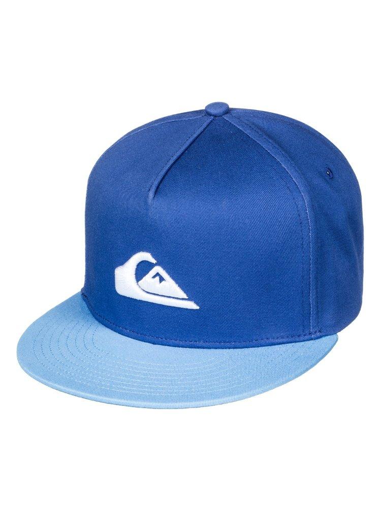 Купить Кепка-бейсболка для мальчиков-подростков QUIKSILVER Stuckles Snap Y Bright Cobalt, Китай