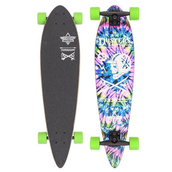 Купить Лонгборд DUSTERS Moto Longboard Neon Tie Dye, Сша