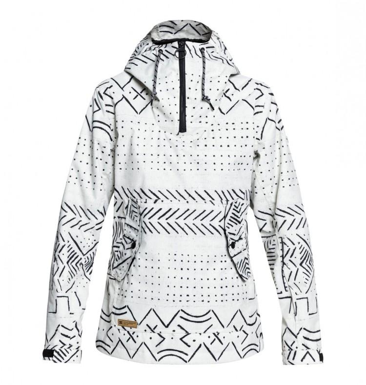 Купить Куртка для сноуборда женская DC SHOES Skyline Jkt J Silver Birch Mud Cloth A, Китай