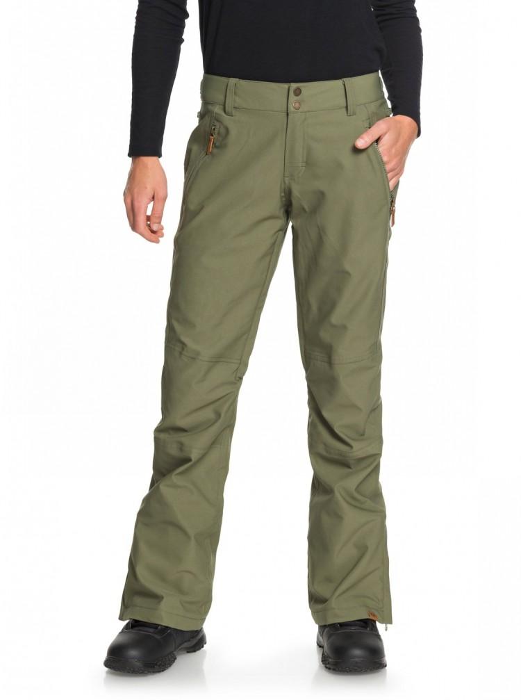 Штаны для сноуборда женские ROXY Cabin Pt J Four Leaf Clover, Китай  - купить со скидкой