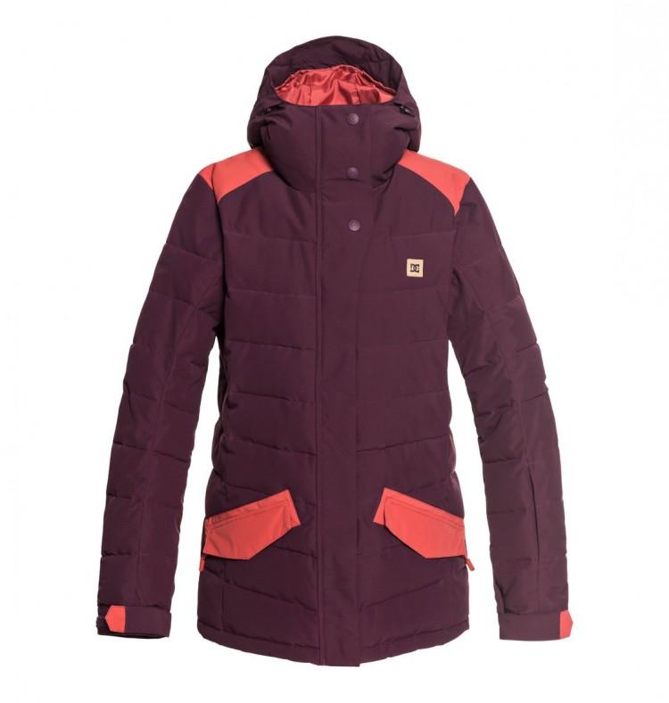 Купить Куртка для сноуборда женская DC SHOES Liberty Jkt J Winetasting, Китай