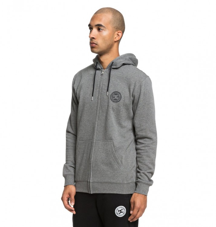 Кардиган DC SHOES Rebel Zh M Charcoal Heather, фото 2