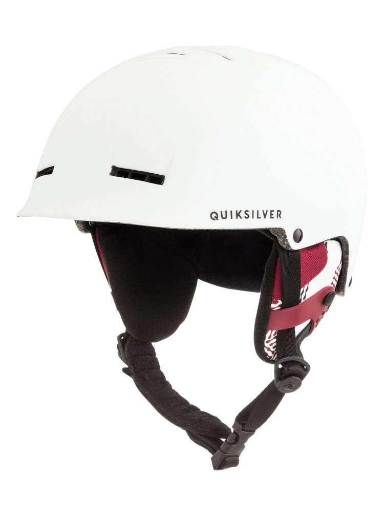 Купить Шлем д/горных лыж и сноуборда QUIKSILVER Fusion M Snow White, Китай