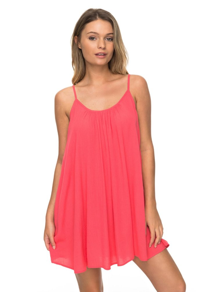 Купить Платье женское ROXY Windy Fly Away J Rouge Red, Индия