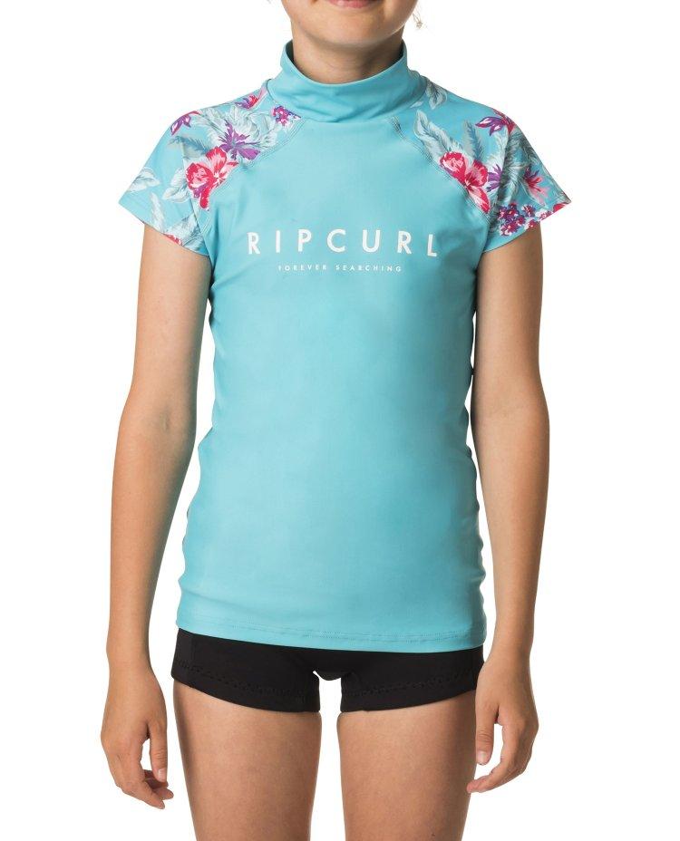 Гидромайка RIP CURL Girls Paradise Cap/Sl Uv Blue, Китай  - купить со скидкой