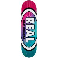 Дека скейтборд REAL SKATEBOARDS Brd Angl Dip Ovl Rd/Lbl Assorted
