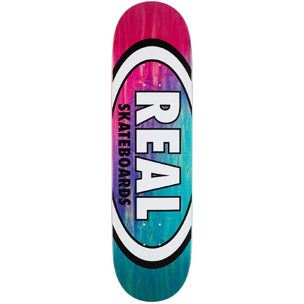 Дека скейтборд REAL SKATEBOARDS Brd Angl Dip Ovl Rd/Lbl Assorted 888560144118