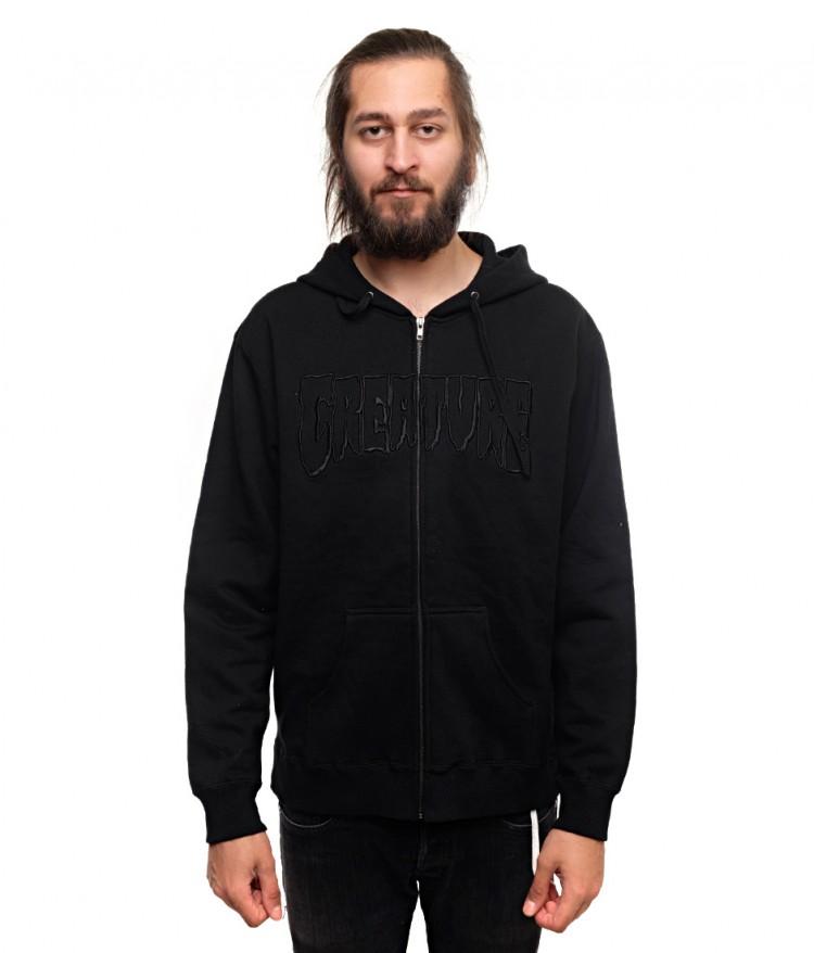 Купить Толстовка На Молнии CREATURE Logo Black