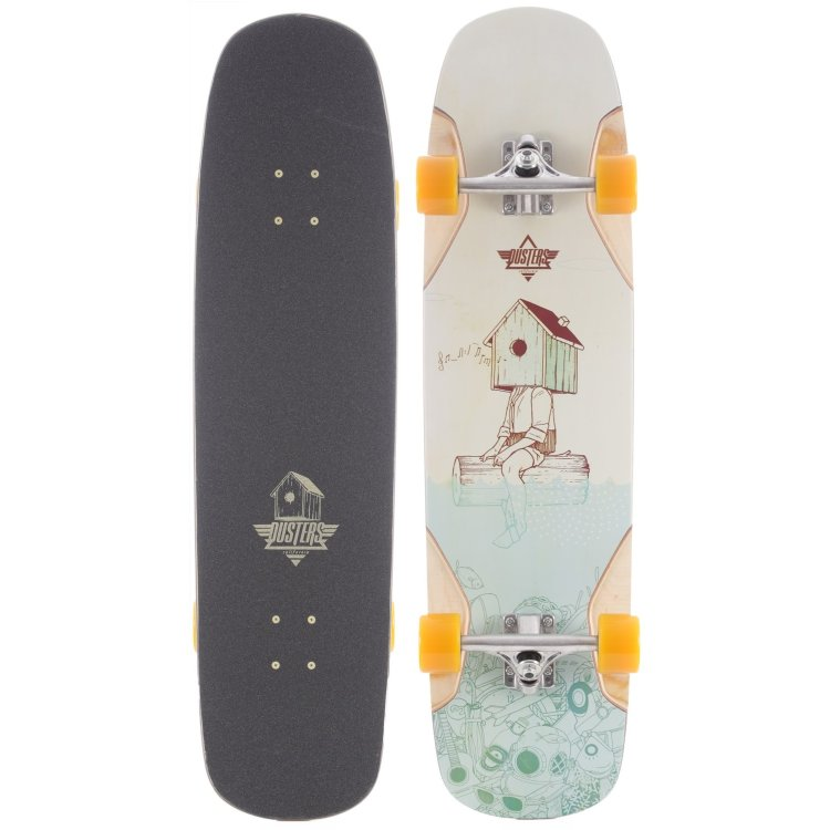 Купить Лонгборд DUSTERS Perch Longboard Kryptonics Yellow, Сша
