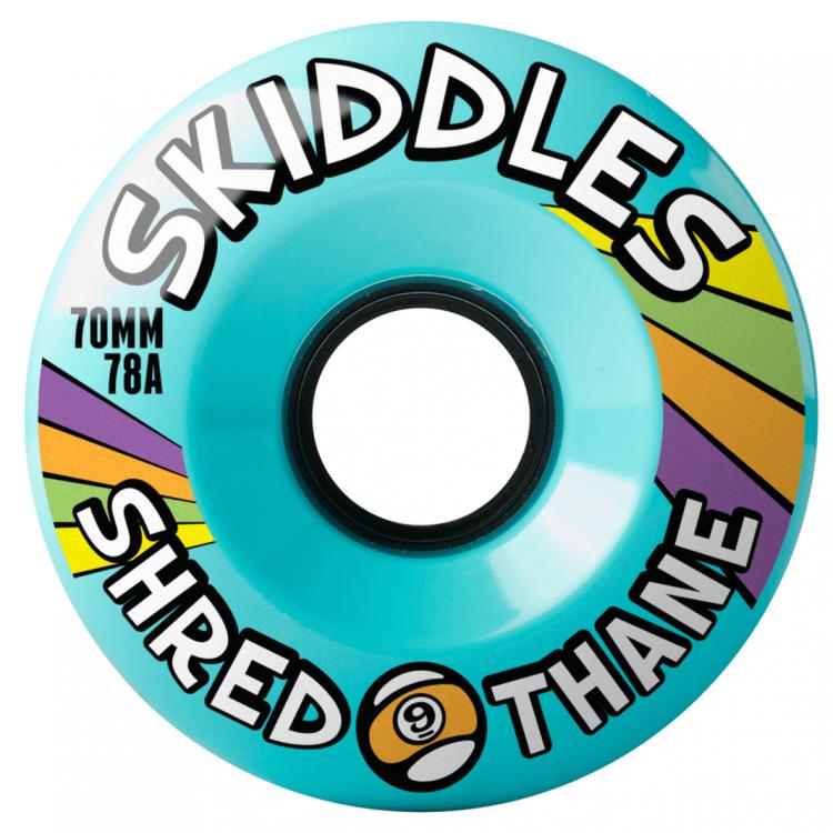 Купить Колеса SECTOR9 Skiddles Wheels BLUE, Сша