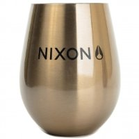 Бокал MIZU Nixon Wine Cup Set (2) Lock Up A/S Glossy Rose Gold W/ Black Print