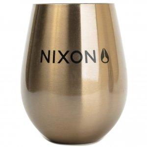 Купить Бокал MIZU Nixon Wine Cup Set (2) Lock Up A/S Glossy Rose Gold W/ Black Print, Китай