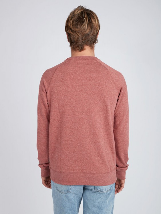 Флисовый свитшот мужской BILLABONG Guardiant Crew Rustic Red, фото 3