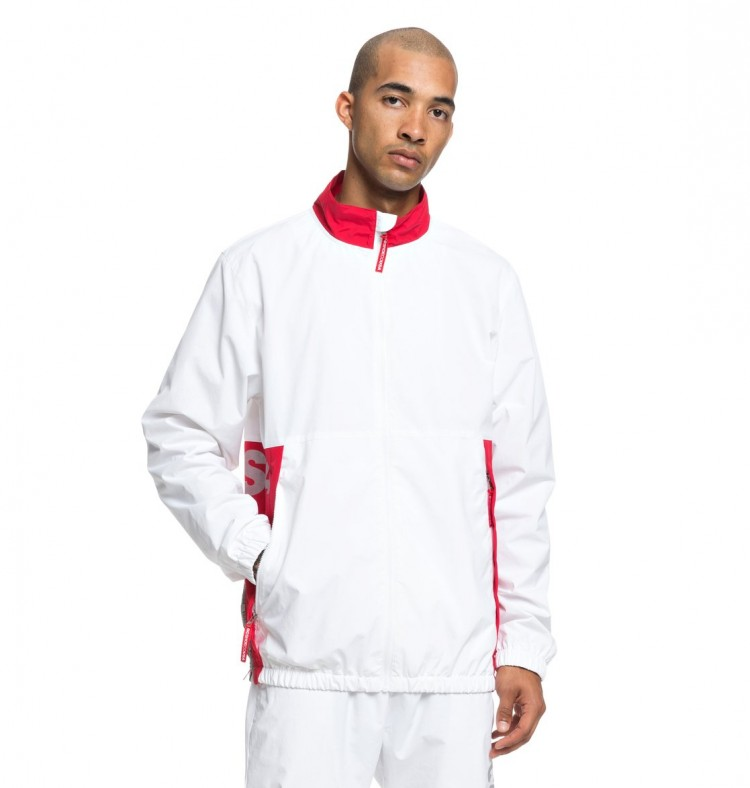 Купить Куртка DC SHOES Skate Track Top M White, Китай