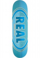 Дека для скейтборда REAL SKATEBOARDS Brd OvalDuo Fade Pp Blue 8.5""