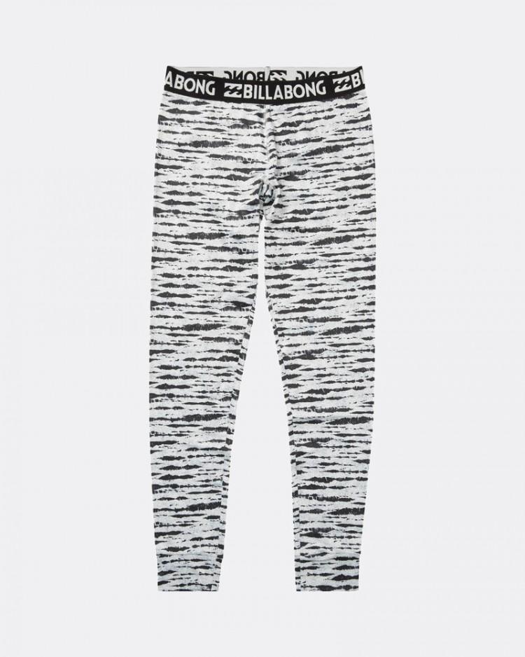 Купить Термоштаны женские BILLABONG Warm Up Tech Pant Black/White, Китай