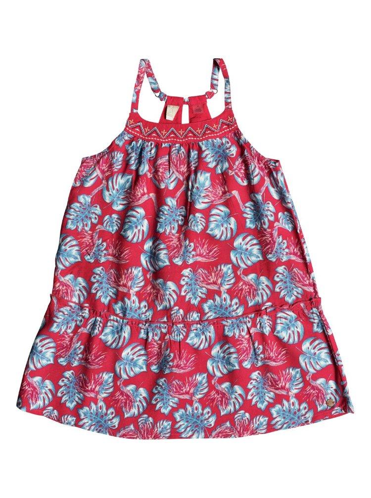 Купить Платье для девочек ROXY Boomeranglove K Rouge Red Abyssal Tropical, Индия