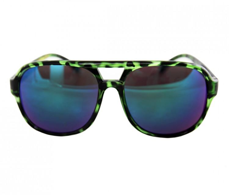 Купить Очки Солнцезащитные CREATURE Cabanaz Green Tortoise, Китай