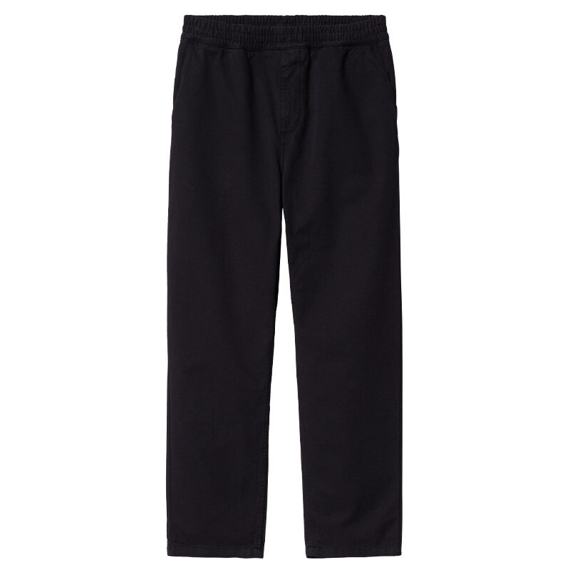 Брюки CARHARTT WIP Flint Pant Black (Garment Dyed) 2022