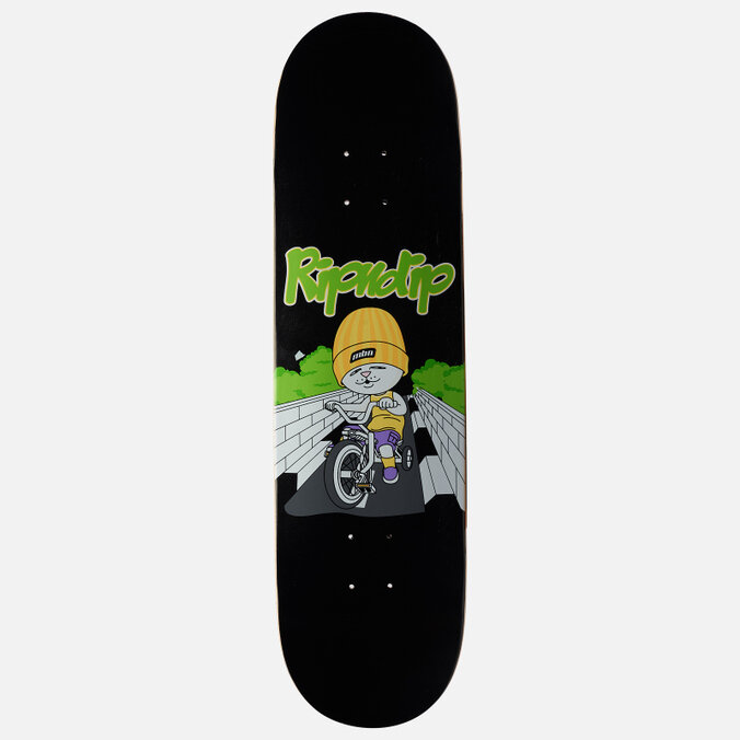 Дека для скейтборда RIPNDIP Love Is Blind Board  Black 8 Дюймов 2021