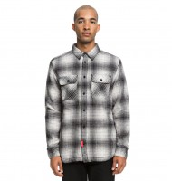 Сорочка DC SHOES Ombre Flannel M Charcoal Heather