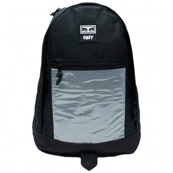 Рюкзак OBEY Conditions Day Pack Ii Black 2020 фото