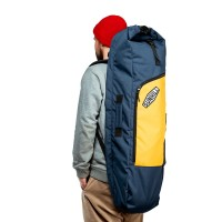 Чехол для лонгборда SUNHILL Long Pack Navy/Yellow