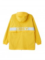 Куртка-анорак OBEY Inlet Anorak Energy Yellow
