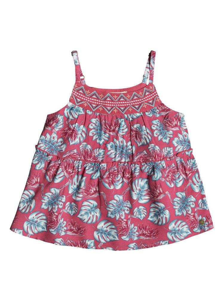 Купить Блузка для девочек ROXY Allyourheart K Rouge Red Abyssal Tropical, Индия