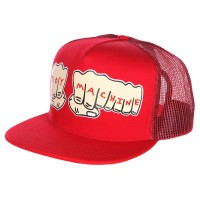 Кепка TOY MACHINE Fists Mesh Cap RED