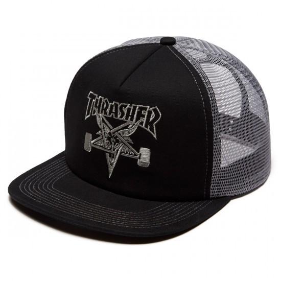 Кепка THRASHER Skategoat Emb Mesh Cap Black/Grey 2021