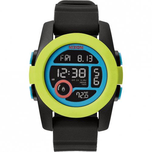 Купить Часы NIXON Unit 40 A/S Chartreuse/Blue/Black, Китай