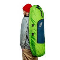 Чехол для лонгборда SUNHILL Long Pack Emerald/Yellow