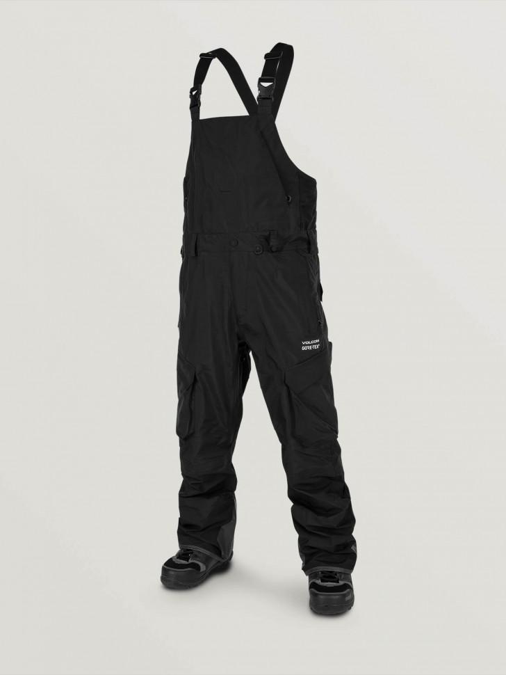 Полукомбинезон для сноуборда мужской VOLCOM 3L Gore-Tex® Overall Black фото